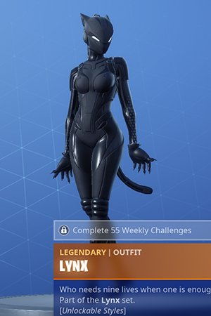 Fortnite, LYNX - Skin Review: Challenge, Leveling Guide & Rewards